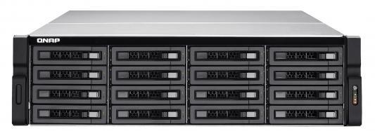 Сетевое хранилище QNAP TVS-EC1680U-SAS-RP-16G Intel Xeon E3-1200 16xHDD