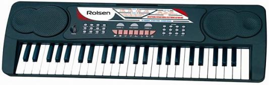 Синтезатор Rolsen RKB4901 49 клавиш USB черный