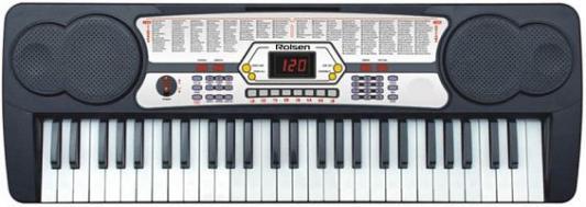 Синтезатор Rolsen RKB5402 54 клавиши USB черный