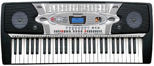 Синтезатор Rolsen RKB5403 54 клавиши USB черный