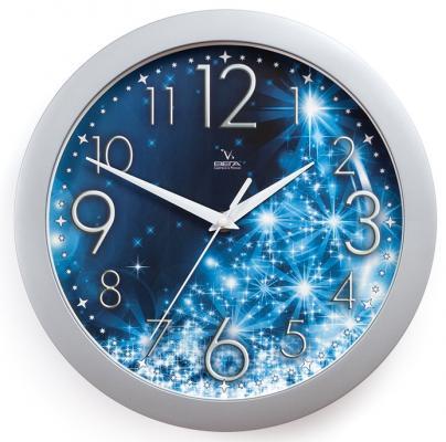Часы ВЕГА П 1-серебро/7-231 Зимние/Синие/Снежинки марушкин п зимние убийцы