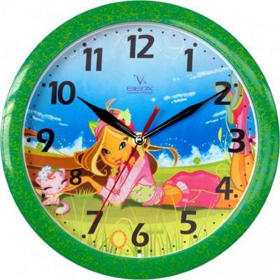 Часы настенные Вега Фея на природе (П 1-322/7-2) рисунок