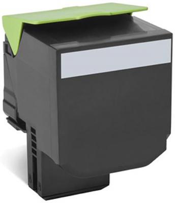 Картридж Lexmark 70C8XKE для CS510de/CS510dte черный 8000стр тонер картридж для лазерных аппаратов lexmark cs510de cs510dte black extra high yield corporate cartridge 8k 70c8xke