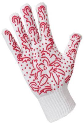 Перчатки трикотажные для садовых работ Хозяюшка Мила 17029 недорого