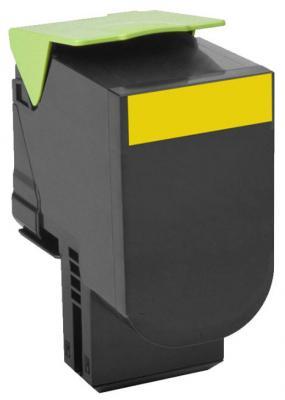 Картридж Lexmark 70C8XYE для CS510de CS510dte желтый 4000стр картридж lexmark 70c8hke для lexmark cs510 cs410 cs310 черный 4000стр