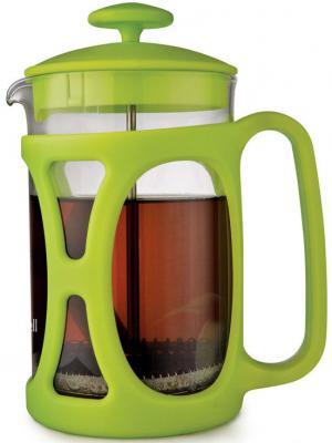 Френч-пресс Maxwell Artlife ML-724(G) зелёный 0.6 л пластик/стекло