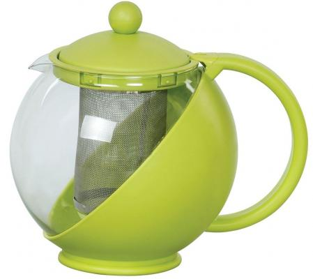 Чайник заварочный Bekker BK-301 1.25 л пластик/стекло bekker bk 301