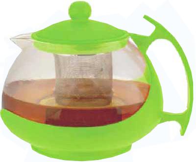 Чайник заварочный Bekker BK-307 0.75 л пластик/стекло