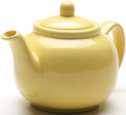 Чайник заварочный Loraine LR-24868 0.94 л керамика жёлтый