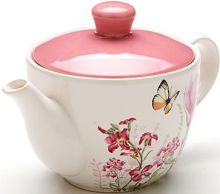 Чайник заварочный Loraine LR-25638 0.9 л керамика рисунок