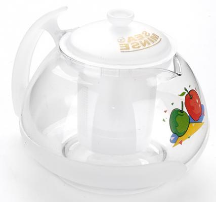 Чайник заварочный Mayer&Boch МВ-2022 рисунок прозрачный 0.7 л стекло