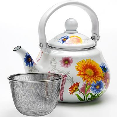 Чайник заварочный Mayer&Boch Подсолнух МВ-23983 1.5 л металл рисунок
