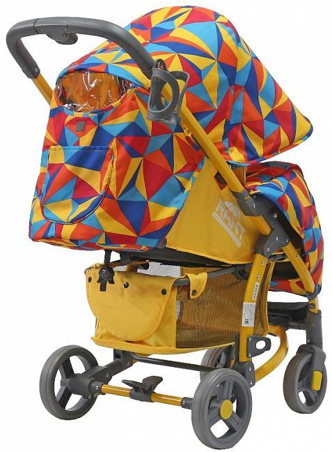 Коляска прогулочная Rant Vira Alu 2016 (origami yellow)