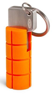 Флешка USB 64Gb LaCie Rugged Key LAC9000399 оранжевый