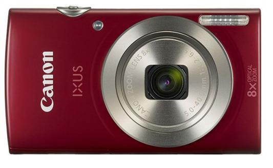 Фотоаппарат Canon Ixus 175 20Mp 8xZoom красный 1097C001