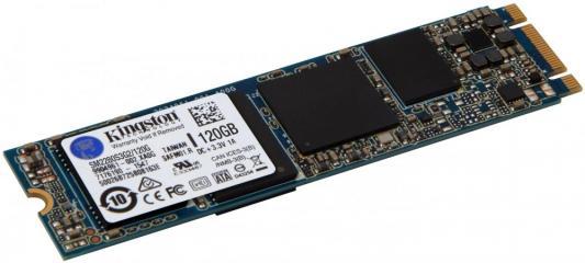 Твердотельный накопитель SSD M.2 120 Gb Kingston M.2 SATA G2 SSD Read 550Mb/s Write 200Mb/s SATAIII SM2280S3G2/120G ssd диск kingston sm2280s3g2 m 2 240гб
