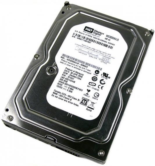 Жесткий диск 3.5 320Gb Western Digital SATAII WD3200AVJS жесткий диск пк western digital wd3200lpcx 320gb wd3200lpcx