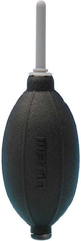 Груша воздушная Matin для очистки фотокамер от пыли, силиконовая, двухклапанная, черная, SUPER GIANT BLOWER (SILICONE)   BLACK