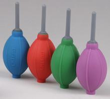 Груша воздушная Matin для очистки фотокамер от пыли, силиконовая, двухклапанная, фиолетовая, HURRICANE BLOWER (SILICONE)   VIOLET от 123.ru