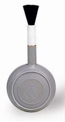 Груша воздушная Matin для очистки фотокамер от пыли со щеткой, резиновая, d=50мм, BLOWER BRUSH - M от 123.ru