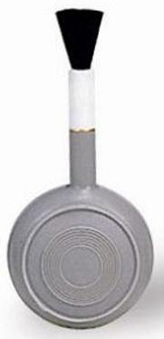 Груша воздушная Matin для очистки фотокамер от пыли со щеткой, резиновая, d=60мм, BLOWER BRUSH - L от 123.ru