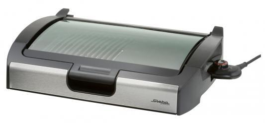 Электрогриль Steba VG 200 серебристый чёрный