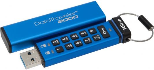 Флешка USB 16Gb Kingston Keypad DT2000/16GB синий jzrcr ypp01 1 new keypad