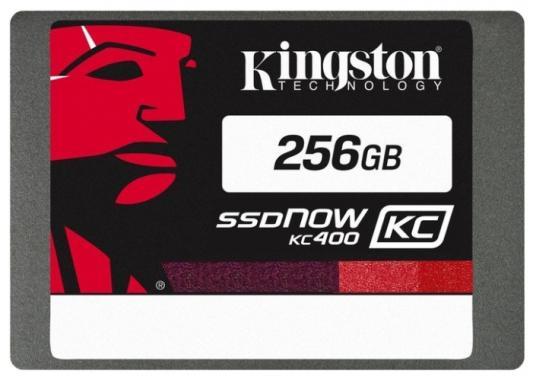 Твердотельный накопитель SSD 2.5 256 Gb Kingston SSDNow KC400 Read 550Mb/s Write 540Mb/s SATAIII SKC400S37/256G