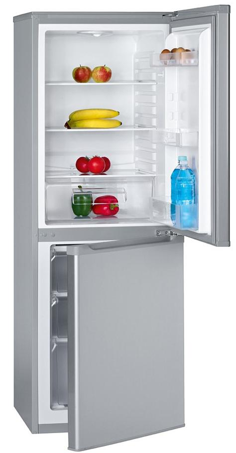 Холодильник Bomann KG 180 silver A++/218L