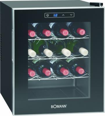 Винный шкаф Bomann KSW 344 черный