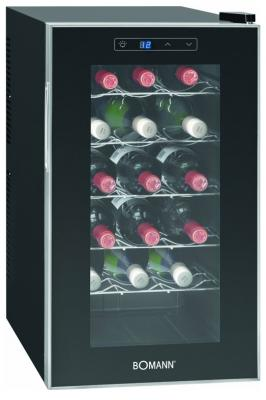 Винный шкаф Bomann KSW 345 черный