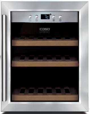 Винный шкаф CASO WineSafe 12 Classic серебристый