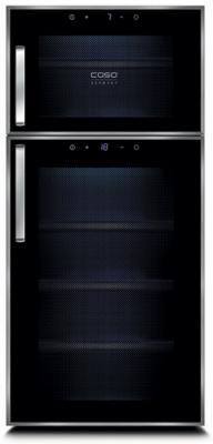 Винный шкаф CASO WineDuett Touch 21 черный