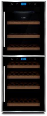 Винный шкаф CASO WineMaster Touch 38-2D черный винный шкаф caso winemaster touch 66