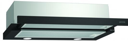 Вытяжка встраиваемая Gorenje BHP623E11B черный