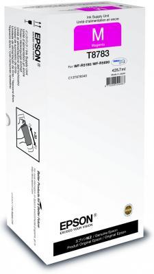 Картридж Epson C13T878340 для WF-R5190DTW/R5690DTWF пурпурный картридж epson c13t838240 для epson workforce pro wf r5190dtw wf r5690df голубой