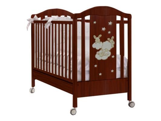 Кроватка с маятником Feretti Romance Swing (noce)