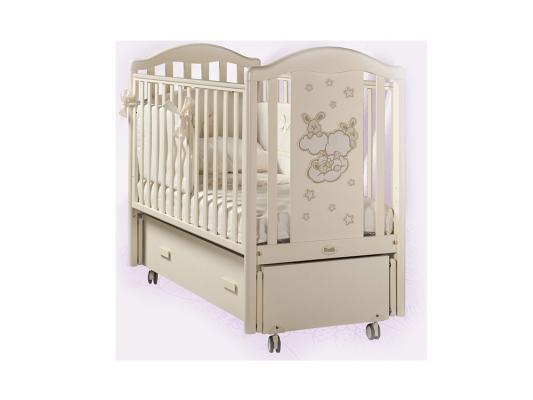 Кроватка с маятником Feretti Romance Swing (avorio)