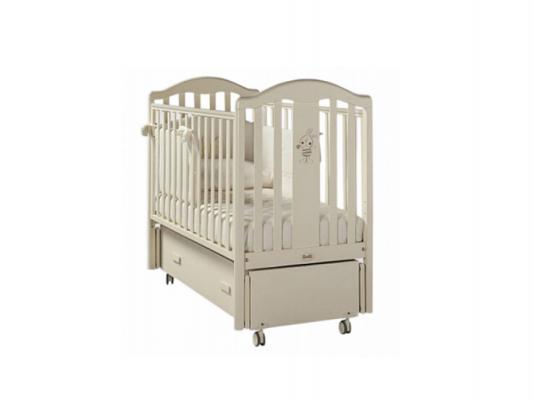 Кроватка с маятником Feretti Ricordo Swing (avorio) кроватка с маятником feretti fms ricordo avorio