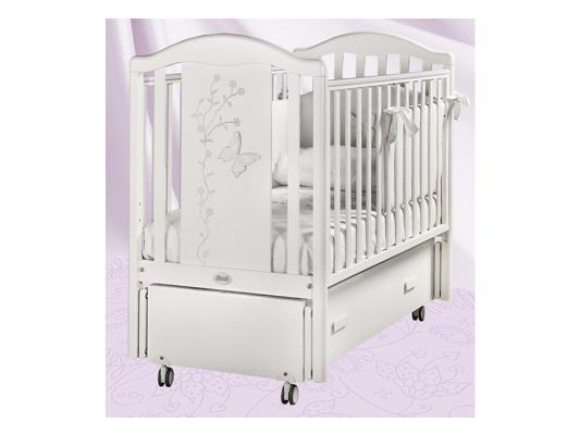Кроватка с маятником Feretti Privilege Swing (bianco)