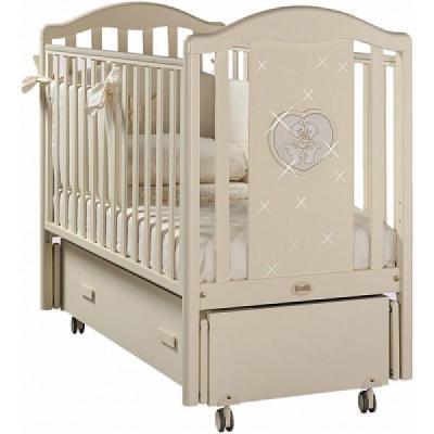 Кроватка с маятником Feretti Mon Amour Swing (avorio) детские кроватки feretti mon amour dondolo качалка