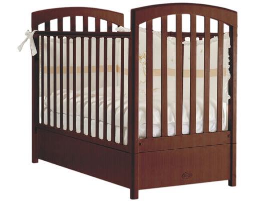 Кроватка с маятником Feretti Sauvage Swing (noce) кровать с маятником mibb tender noce antico swing walnut темный орех li003rna