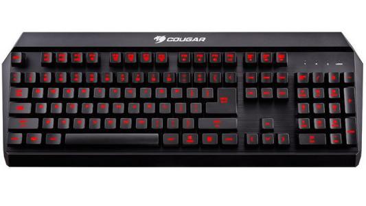 Клавиатура Cougar 450K черный USB