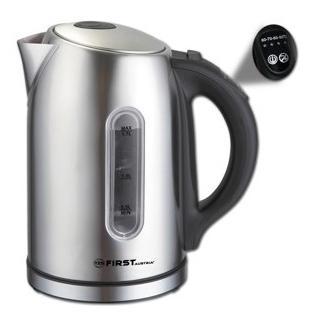 Чайник First 5411-0 2200 Вт 1.7 л металл стальной