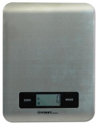 Весы кухонные First FA-6403 серый