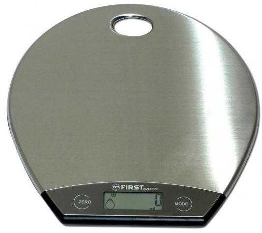 Весы кухонные First FA-6403-1 серый