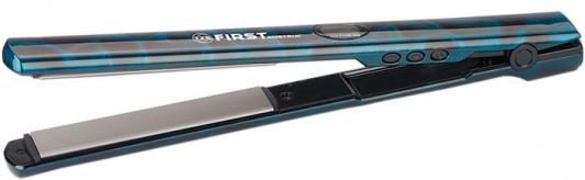 Выпрямитель волос First FA-5663-3 чёрный синий