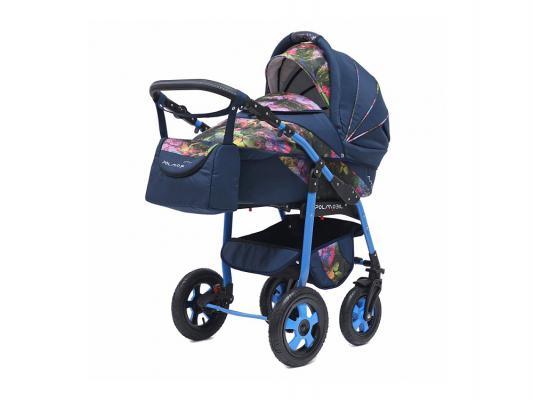 Коляска 2-в-1 Polmobil Astra Fashion Collection (listva02/синий)