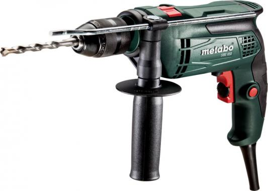 Дрель-шуруповёрт Metabo SBE 650 650Вт 600671850 матрас dreamline king tradition soft 150х195 см