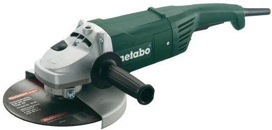 Углошлифовальная машина Metabo W 2000 (606420000) 230 мм 2000 Вт